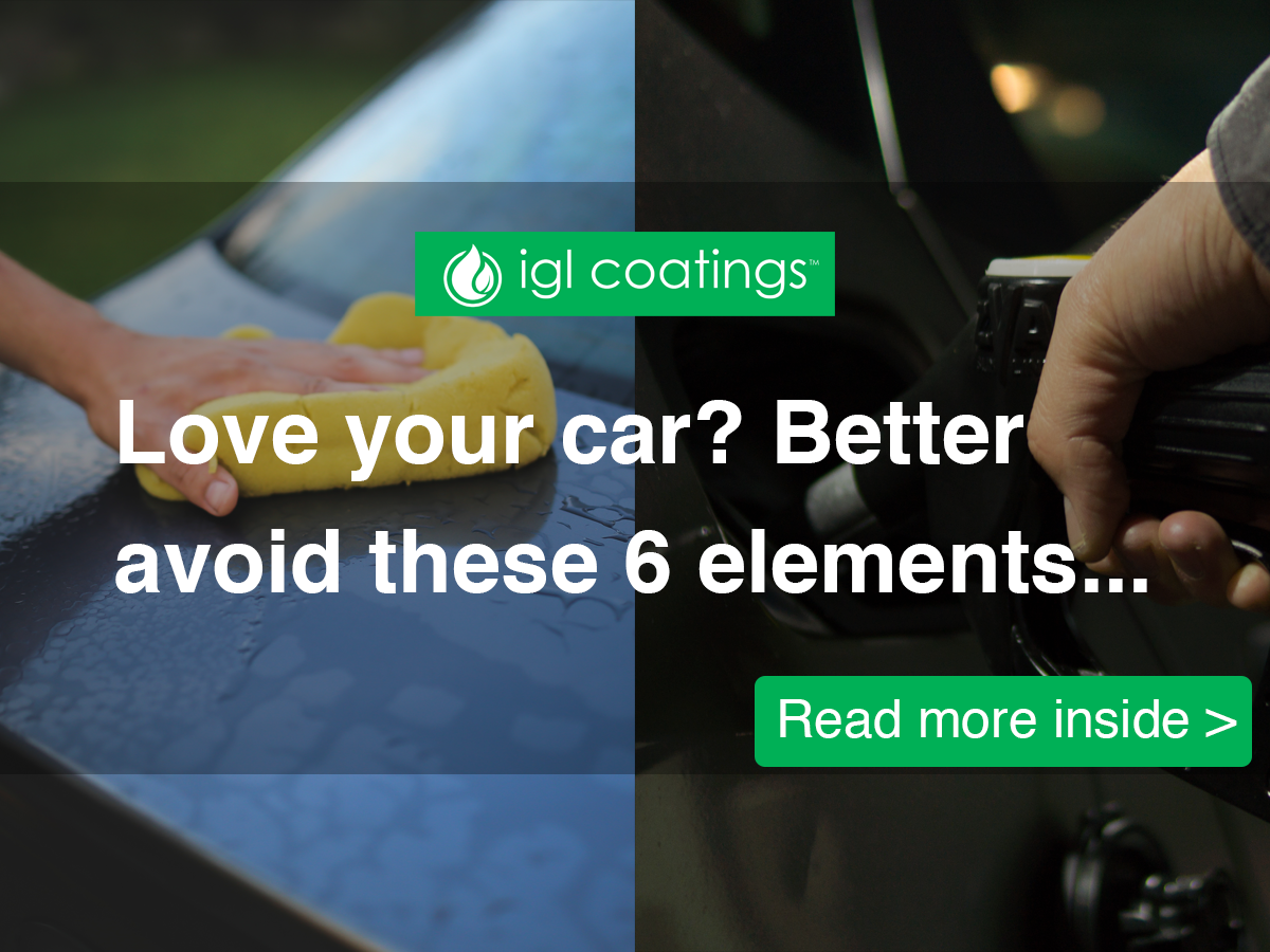 6 times you ruined your car paintwork and how to remove them