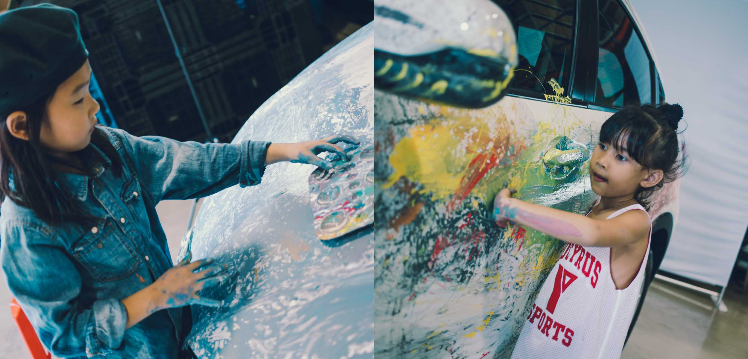 kid-talent-painting-the-car-coated-with-igl-kenzo