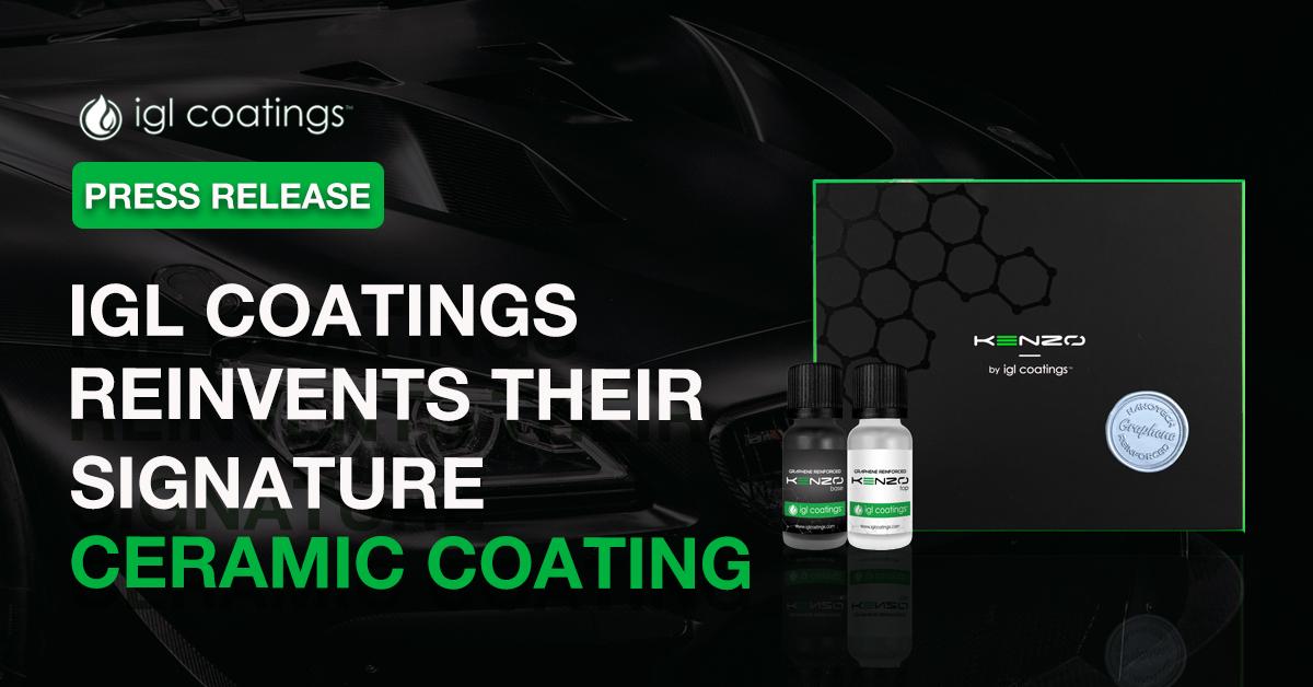 Press Release: IGL Coatings Reinvents their Signature Ceramic Coating