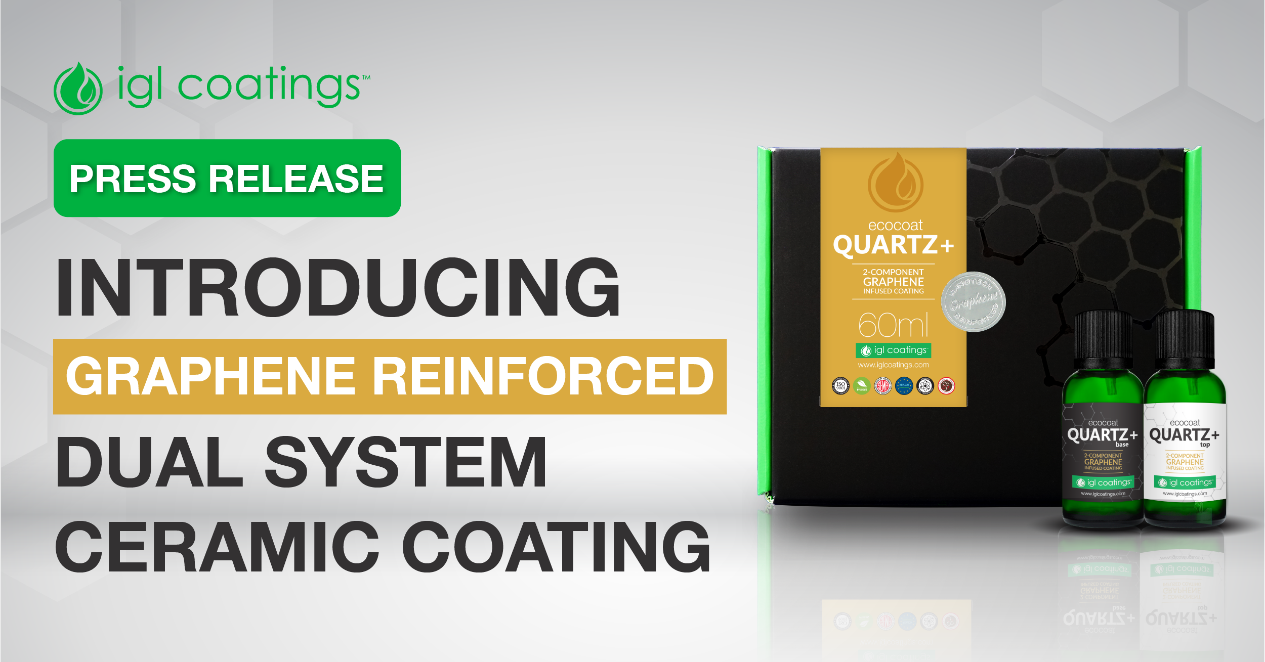 Press Release: Introducing Graphene Reinforced Dual System Ceramic Coating