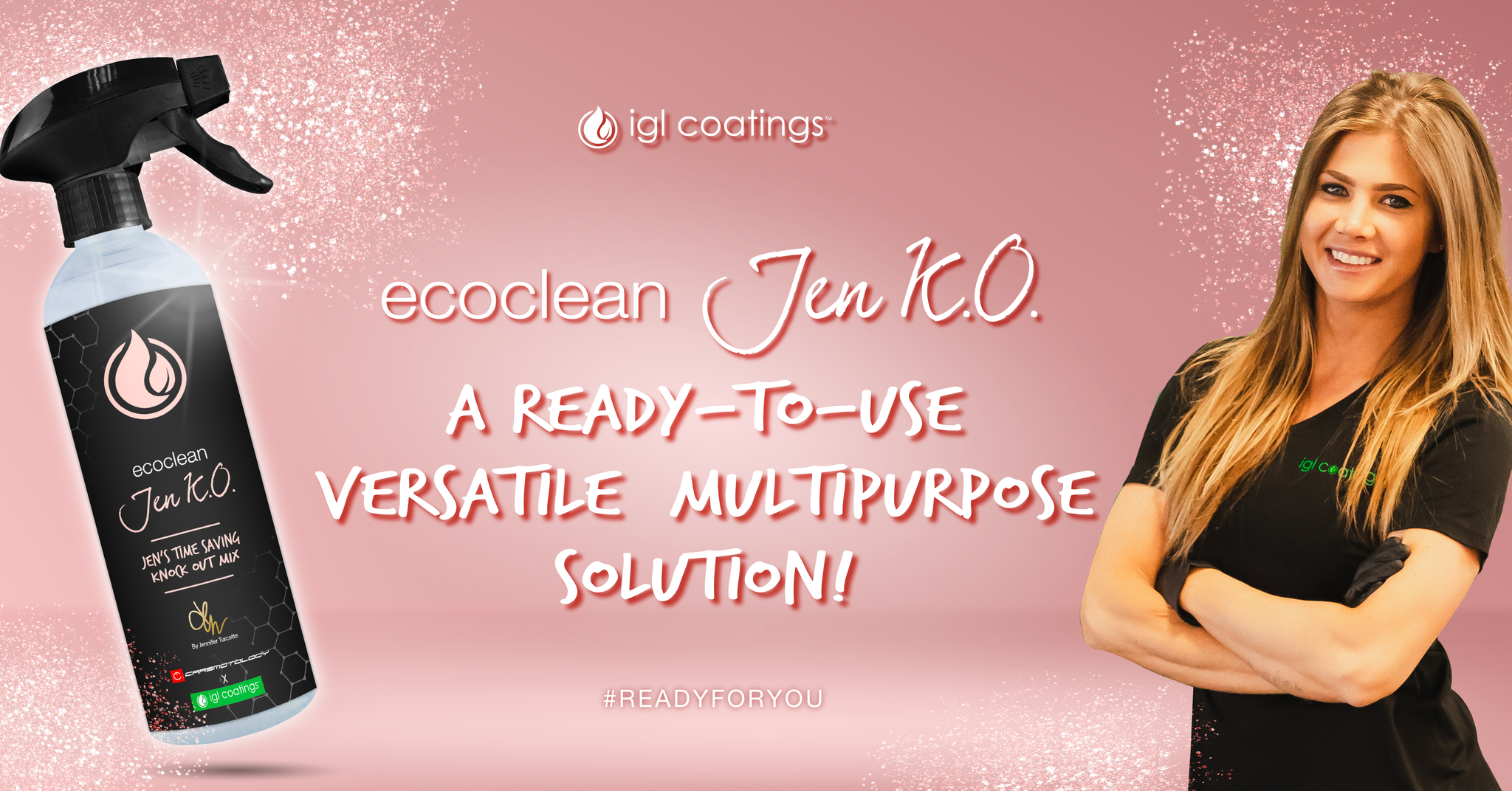 Get Your Hands On Our *Handy* NEW Ecoclean Jen K.O.!