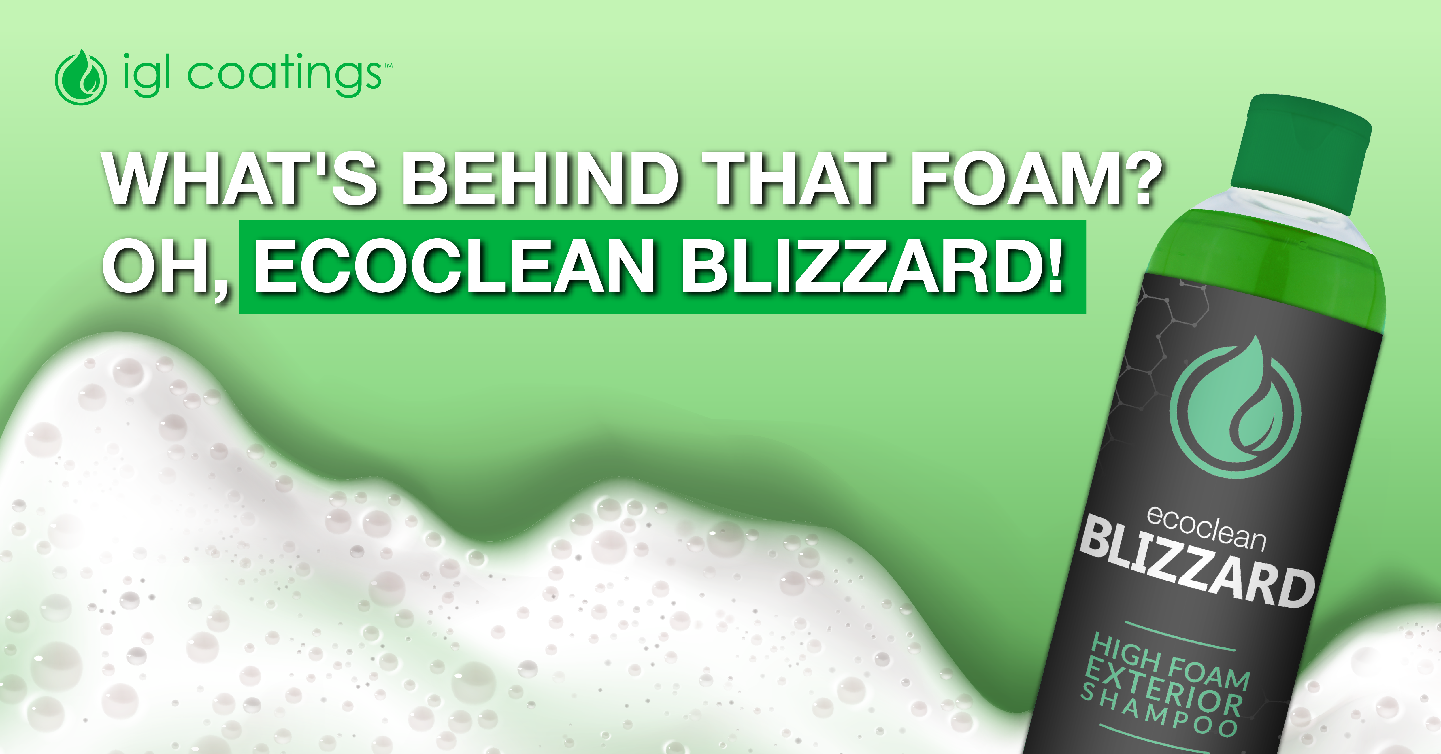 A Complete White-Out?! Must Be Our Ecoclean Blizzard!