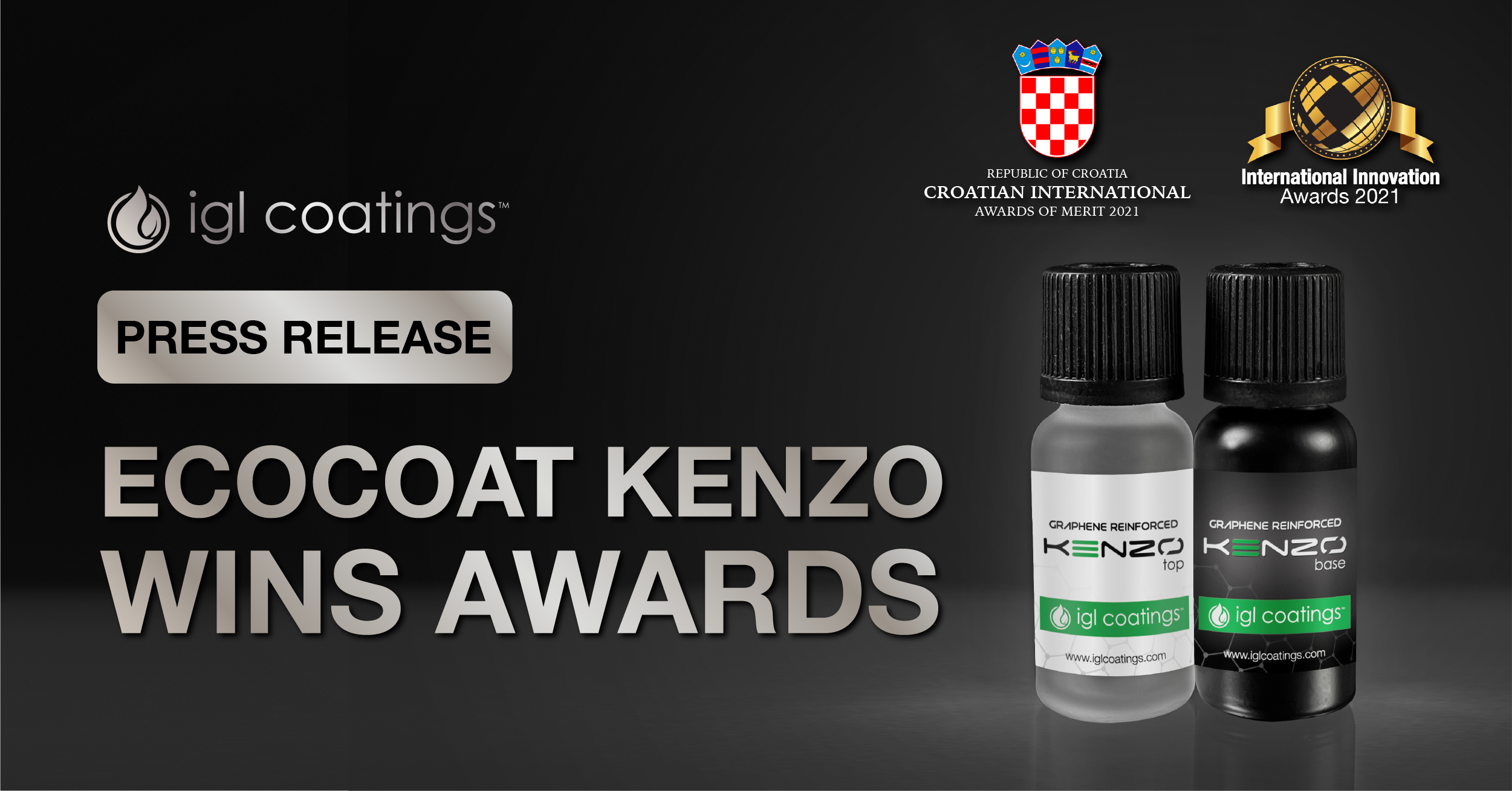 Press Release: It's A Double Win For Kenzo!